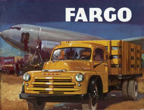 Refrigerator Magnet,40 MIL 1948 Fargo Stake Truck Dodge