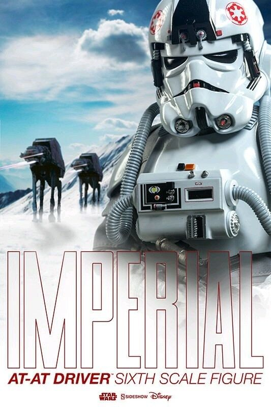 Star Wars--Star Wars - Imperial AT-AT Driver 1:6 Scale Figure