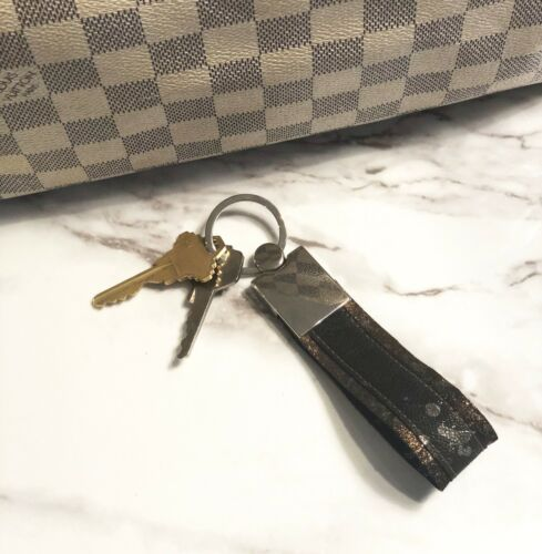 Leather Keychain Key Ring Soft Lambskin /& Premium Hardware Handmade in the USA