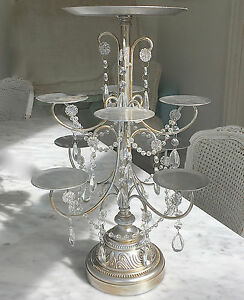 tall wedding cake stand silver wedding birthday cupcake candelabra table 20744