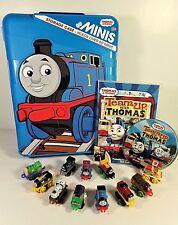 Thomas /& Friends 3 pack MINIS CLASSIC PERCY ~ RACING THOMAS ~ SPOOKY EMILY NIB