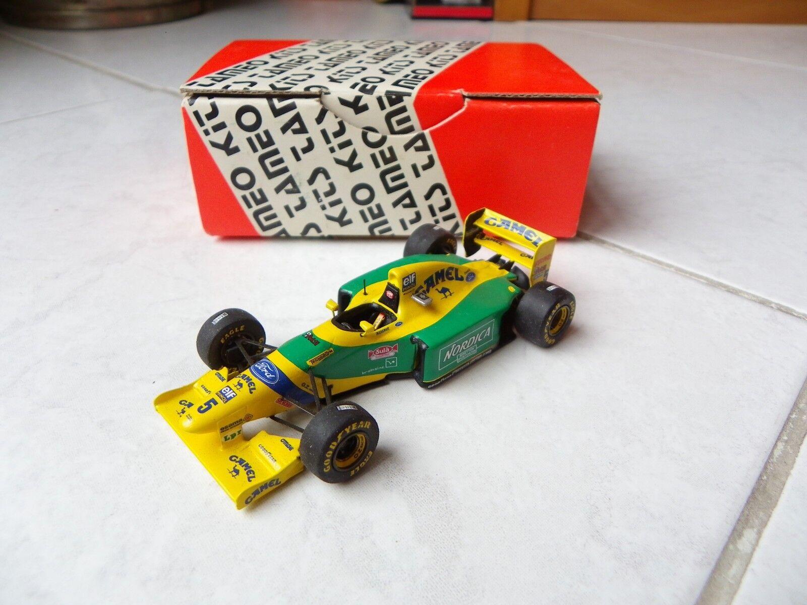 Benetton Ford B193b Schumacher Camel 1993 Tmk170 Tameo Kits Kit Heat 1 43 F1