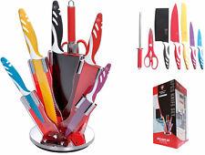 Set coltelli Ceramica Professionali.Tagliare,affettare,chef. Ceppo,manaretta