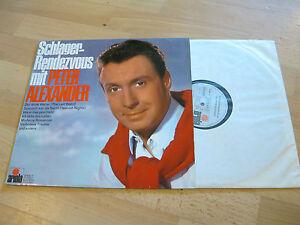 LP-Peter-Alexander-Schlager-Rendezvous-Vinyl-ARIOLA-76-955-IT-Schallplatte