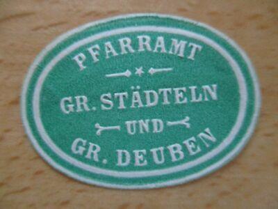 Siegelmarke Warnen Städteln Und Gr 17294 Deuben Pfarramt Gr