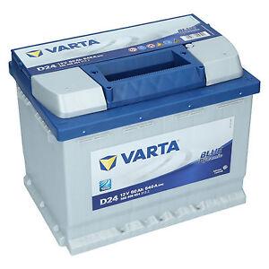 varta d24 12v 60ah 540a en autobatterie blue dynamic pkw batterie neu ebay. Black Bedroom Furniture Sets. Home Design Ideas