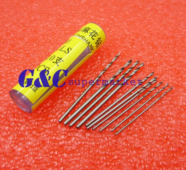 10pcs Mini PCB Drill 2X0.7mm 2X0.8mm 2X1.0mm 2X1.2mm 2X1.4mm Press Drilling Bit