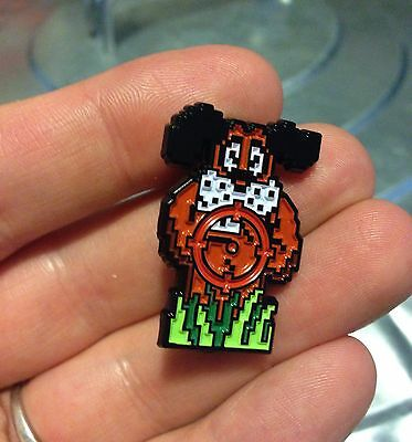 Duck Hunt Pin Funny Gamer Pins approximately 1.5 x 1.5 Nostalgic Pin always gets a laugh