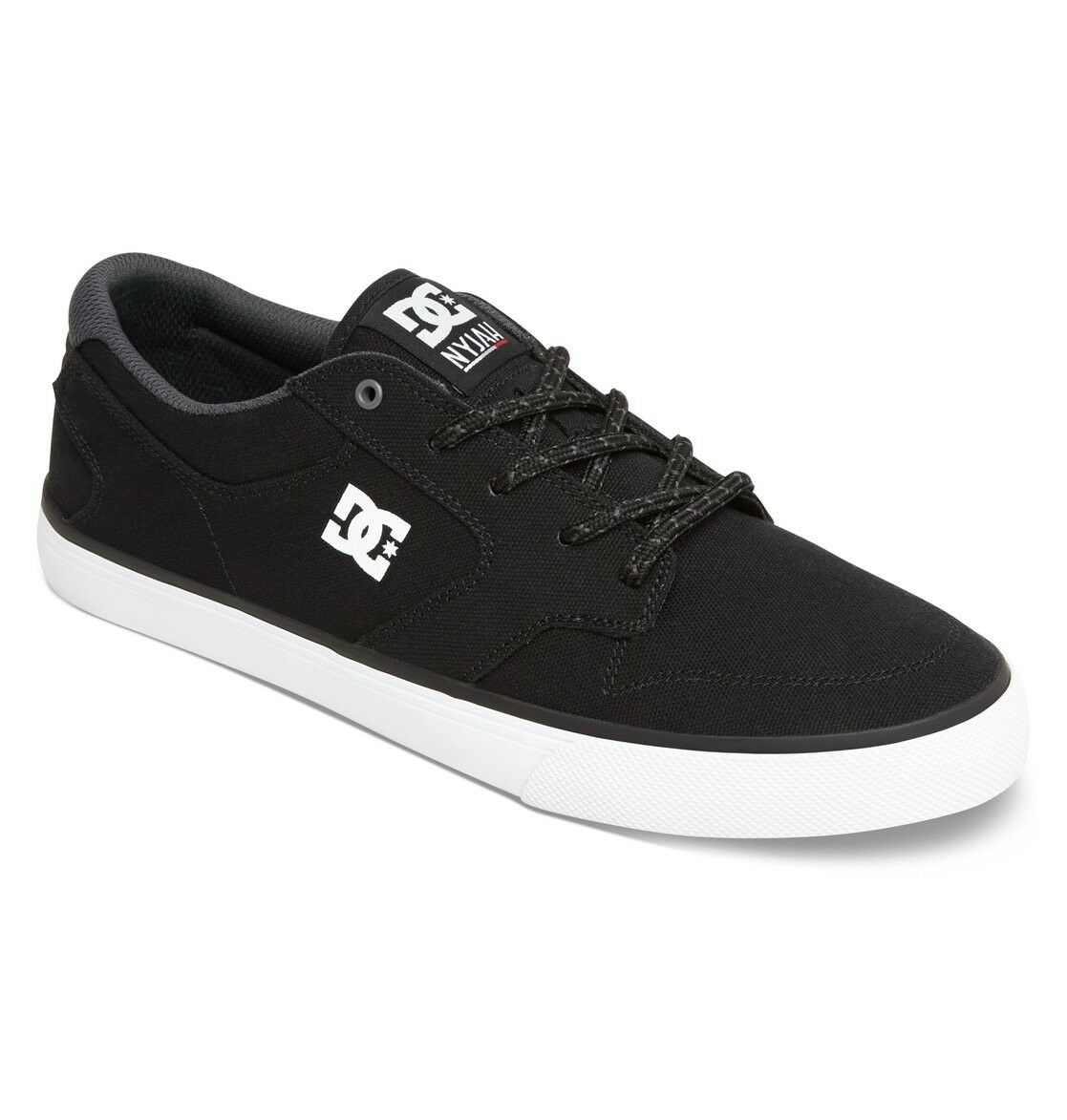 Neu DC Shoes Nyjah Vulc TX Sneakers Skaterschuhe Turnschuhe schwarz