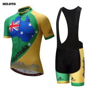 MILOTO Pro Team Cycling Clothes Ropa Ciclismo Mens Bike Jersey (Bib ... 420c1d851