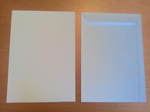 100 bolsillos envío c5 blanco sobres para a5 haftklebung haftklebend sin ventanas