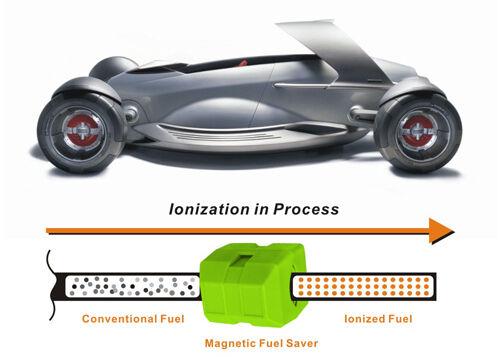 2 x pairs Magnetic 25/% Fuel saver all model CAR JEEP VAN BOAT MOTOR BIKE BUS
