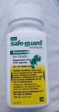 Merck Safeguard Goat Dewormer 125ml Fenbendazole Expires 12023 Or Later