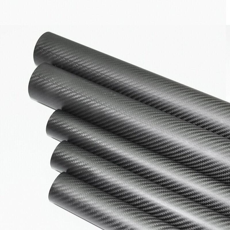 3k autobon Fiber Tube od 60mm ID  x 56mm 57 mm x 500mm 60x56 60x57 POLO avvolto  in linea