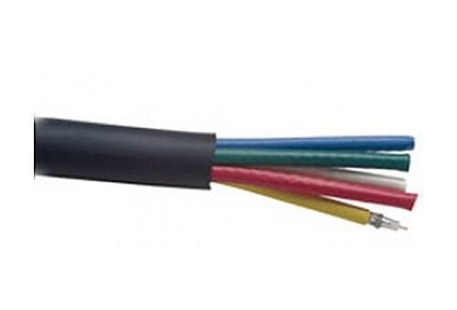 500ft 5 Mini Coax 23awg RGB Cable for Component Video