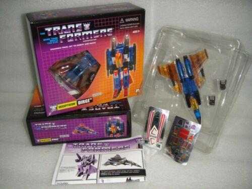 KT Transformers G1 Thrust Starscream Dirge Sunstorm Thundercracker Ramjet Boxset