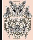 Summer Nights Coloring Book by Hanna Karlzon (Hardback, 2016)
