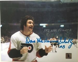 Philadelphia-Flyers-Dave-The-Hammer-Schultz-034-Ready-To-Battle-034-8-x-10-Photo