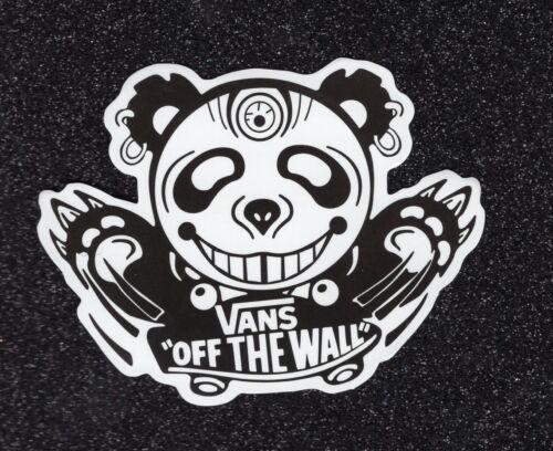 Panda Vinyl Sticker 1Vans//Off-the-Wall
