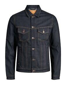 Jack-amp-Jones-Hombre-Cazadora-chaqueta-Azul-larga-20757-60