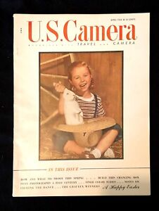 Vintage U.S.Camera Magazine 1942 Great Ads! Photography /& Much More