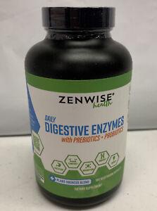 Zenwise Health Digestive Enzymes Plus Prebiotics & Probiotics For Digestion FF26