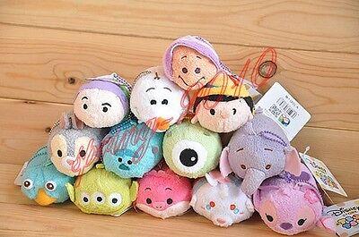 "Tsum Tsum 3.5"" Plush Doll Toy Mini Toy Stackaeble Doll Xmas Gift New"