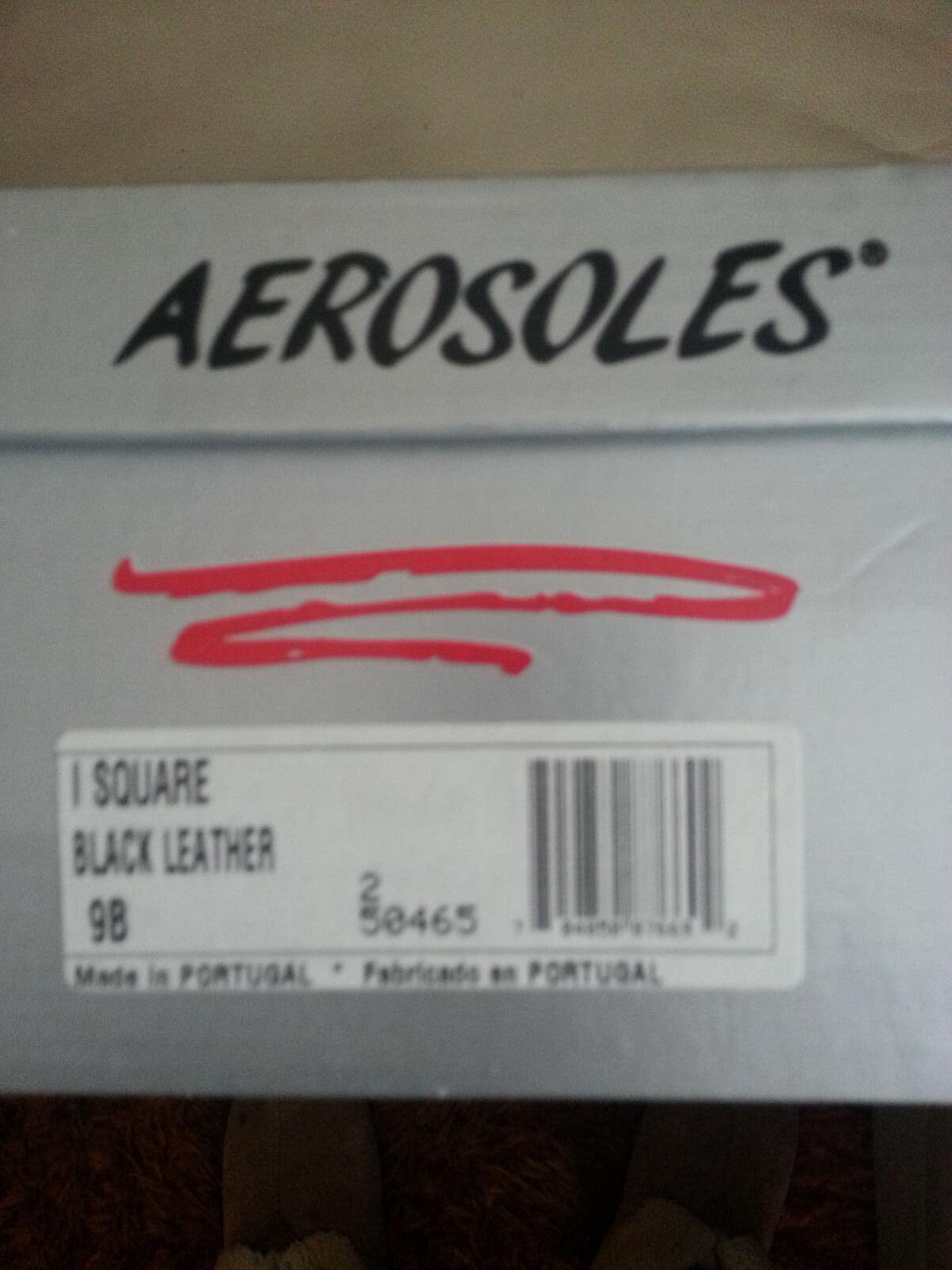 Aerosoles Mujer me Plaza en Cuero Negro entrega de gratuita de entrega 9B 995d2f