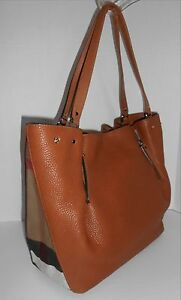 1ea931877b40 Image is loading Burberry-medium-maidstone-leather-tote-Brown