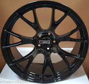 Dodge Durango Lug Pattern >> Details About 22 Rims Gloss Black Wheels Hellcat 5x127 Fit Dodge Durango Rt Jeep
