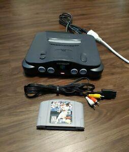 Nintendo 64, N64 / TESTED Console Bundle + Expansion Pak + Cables + Game Pak