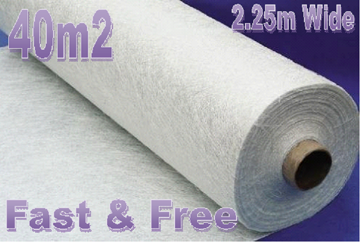 40m2 - Weed Control Fabric Non Woven Strong GeoTextile Membrane Weed Suppression