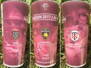 1 Verre Gobelet Rugby Ubb Union Bordeaux Bègles Toulouse Ecocup Rct 2017-18