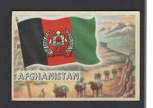 Details about A & B C GUM - FLAGS OF THE WORLD (X SIZE) - #46 AFGHANISTAN