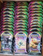 Pokemon Sword & Shield Vivid Voltage 22 Booster Packs and 1 BLISTER 3 Pack Lot
