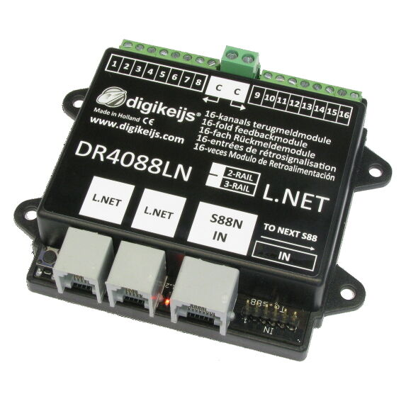 Digikeijs DR4088LN 16 detector de de de votos ocupación del canal funciona con Digitrax 161bb6