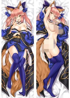 Anime Fate//Extra Tamamo no Mae Dakimakura Pillow Case Cover Hugging Body Gift