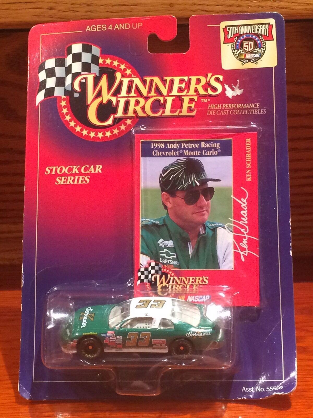Winner's Circle Ken Schrader  33 Chevy Chevy Chevy Monte Carlo 1:64 6f3253