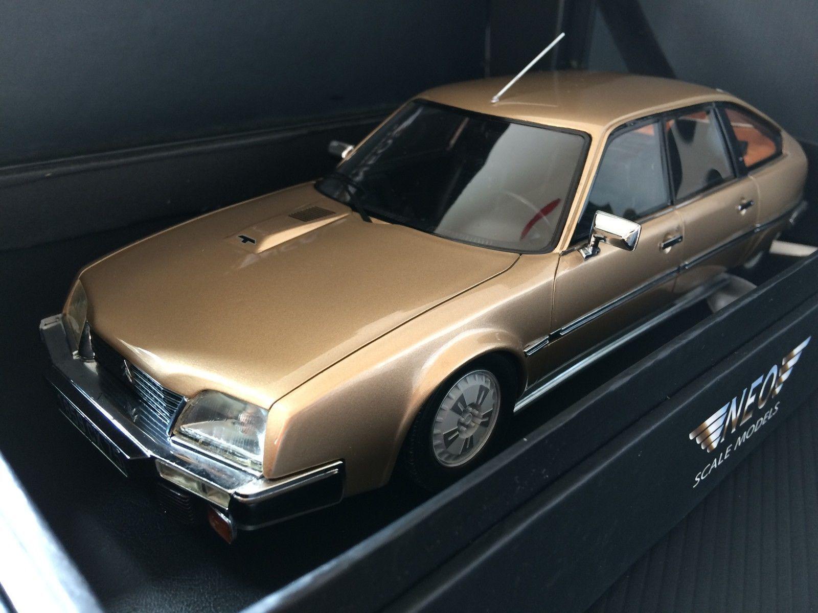 Neo 1 18 1982 Citroen CX Pallas, Beige Met (18059)