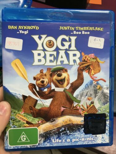 1 of 1 - Yogi Bear ex-rental Blu Ray (2010 kids / family animated movie) cheap