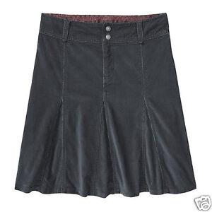 ATHLETA-Whenever-Cord-Skirt-NWT-NWD-Size-10-Asphalt
