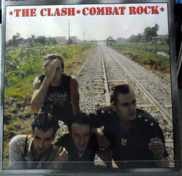 The Clash: Combat Fels - LP Vinyl 33 RPM