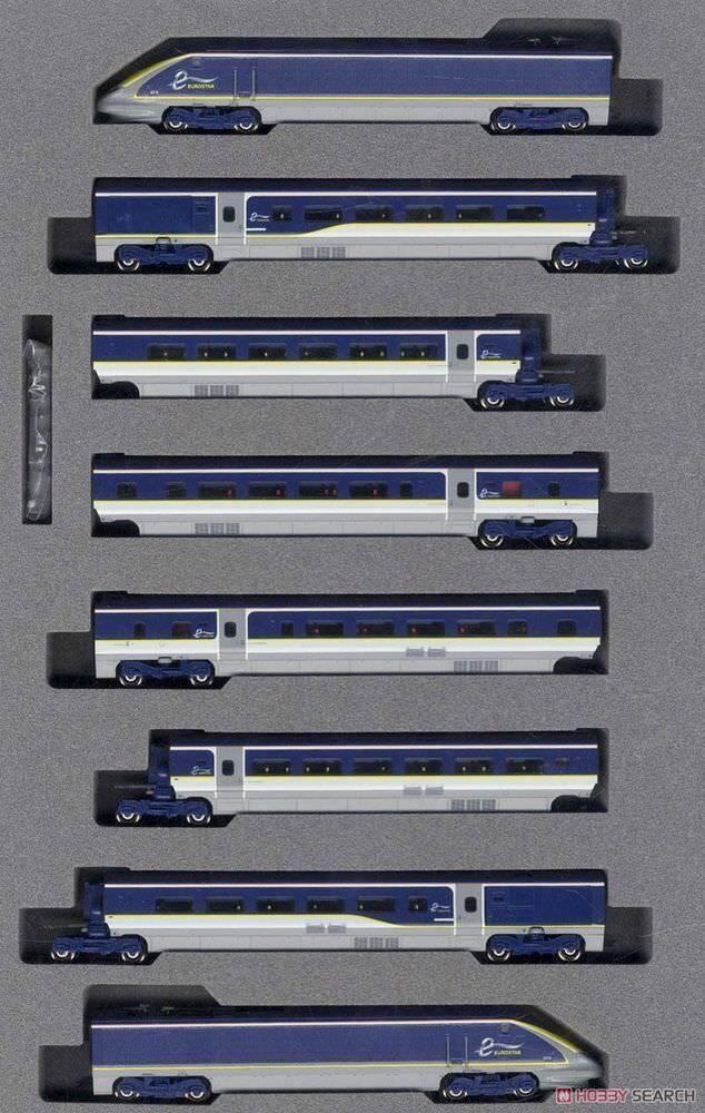 KATO 10-1297 EUROSTAR NEW Coloreee E300 8 CARS SET (N SCALE) - BNIB