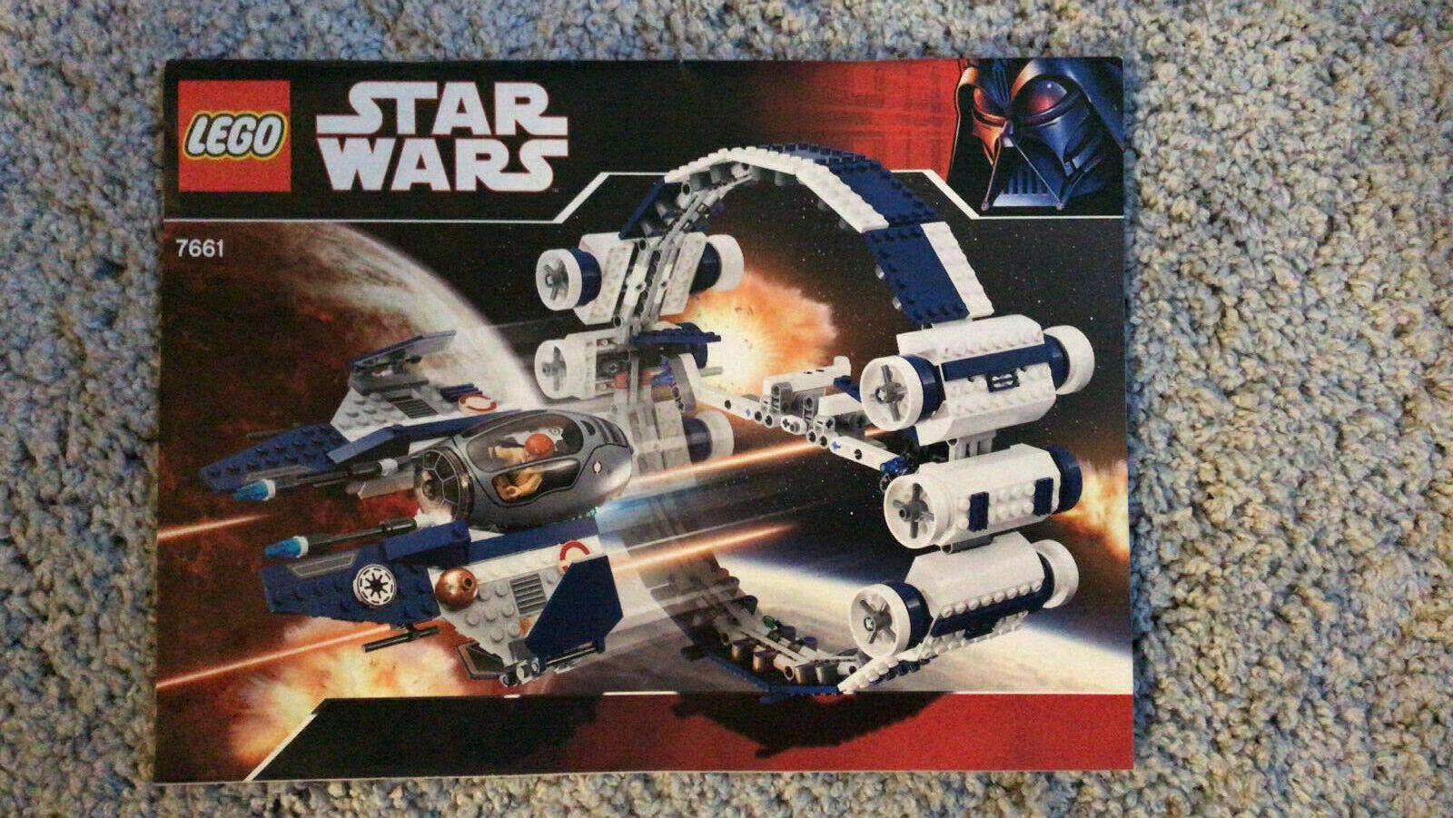 LEGO Star Wars Jedi Starfighter with Hyperdrive Booster Ring (7661)