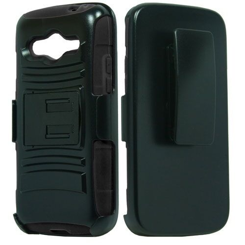 holster + Hybrid Case Phone Cover for Samsung Galaxy Avant SM-G386T SM-G386T1