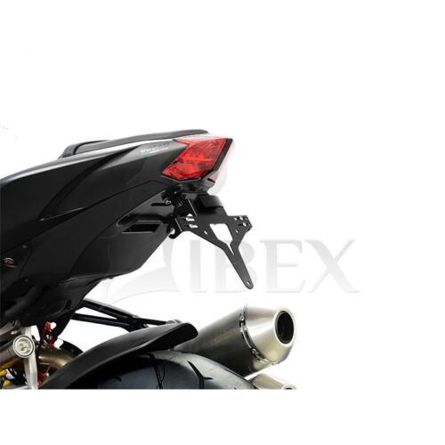 Halteplatte IBEX Ducati Streetfighter// S 09-13 848 11-15 Nummernschild Halter