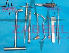Orthopedic instruments 10 PCs Set ZABEEL INDUSTRIES
