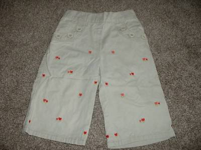 Bottoms Gymboree Baby Girls Holland Days Khaki Capri Tulip Pants Size 18-24 Months Mos To Ensure A Like-New Appearance Indefinably