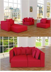 Xxxl Wohnlandschaft 3 Teile Modulares Sofa Couch Ecke Alcantara Look
