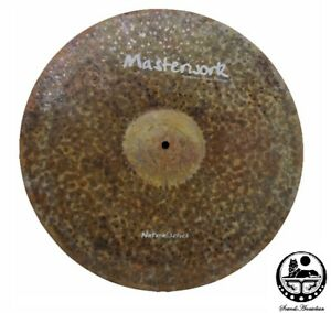 uvre-Cymbales-18-pouces-naturel-Ride-Sizzle-Rivets